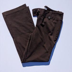 EUC Ann Taylor brown dress pants